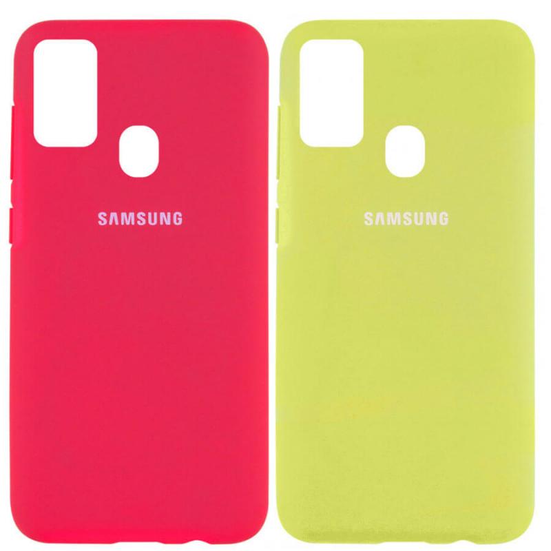 Чехол Silicone Cover Full Protective (AA) для Samsung Galaxy M30s / M21