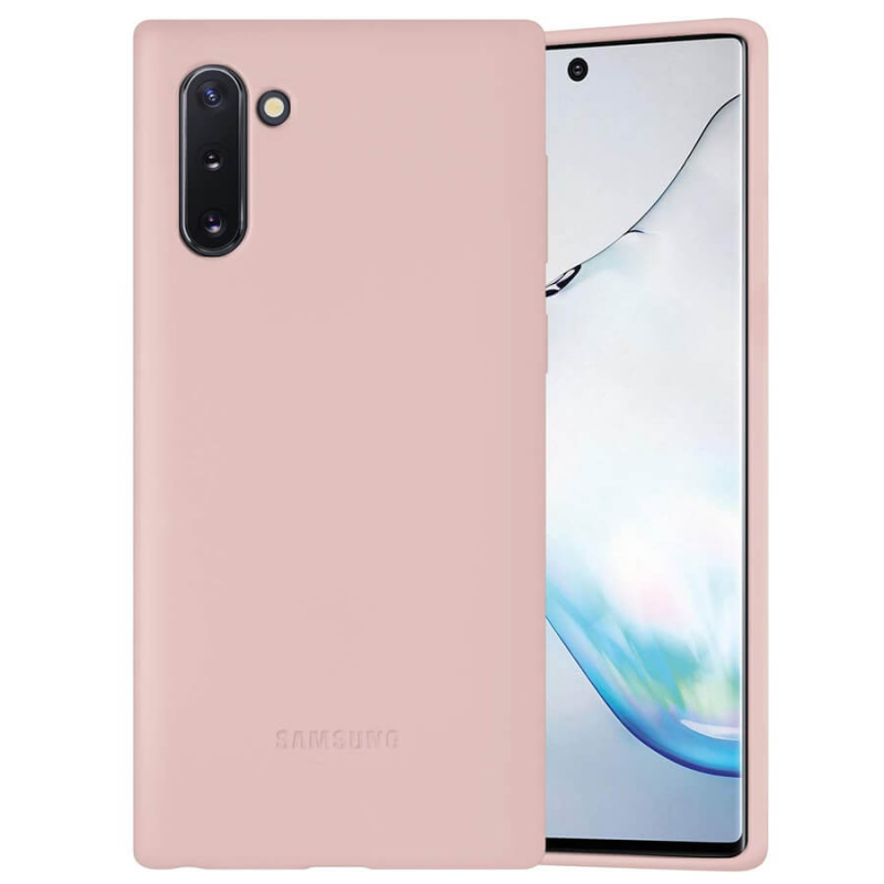 Чехол Silicone Cover Full Protective (AA) для Samsung Galaxy Note 10