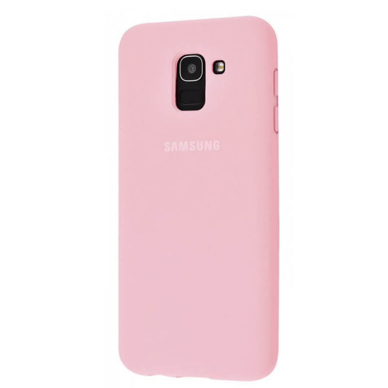 Чехол Silicone Case Full Protective для Samsung J600F Galaxy J6 (2018)