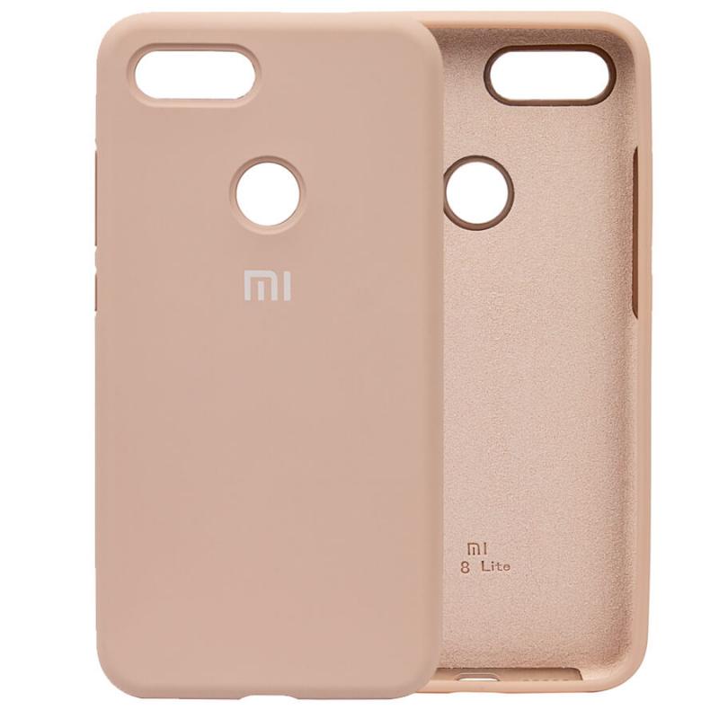 Чехол Silicone Case Full Protective для Xiaomi Mi 8 Lite / Mi 8 Youth (Mi 8X)