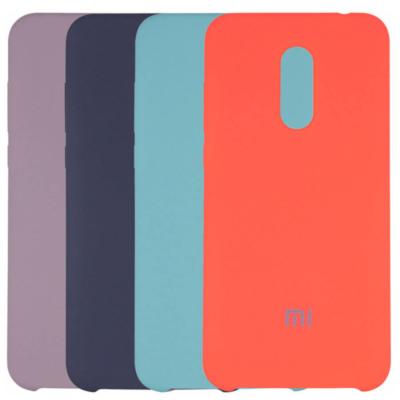 Чехол Silicone Cover Full Protective (AA) для Xiaomi Redmi 5 Plus / Redmi Note 5 (Single Camera)