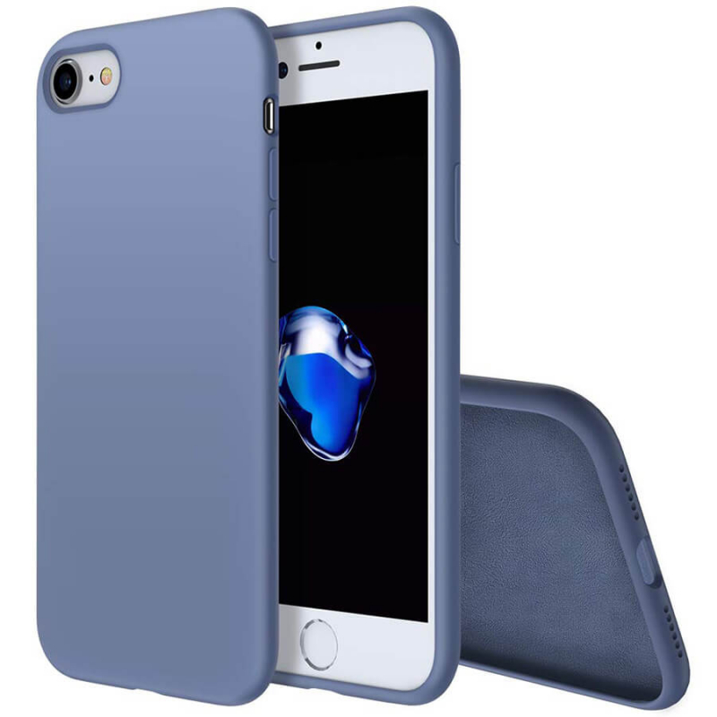 "Чехол Slim Silicone case full protective для Apple iPhone 7 (4.7"")"