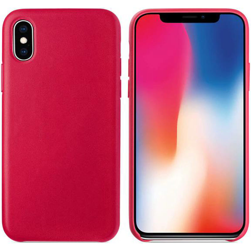 "Чехол Soft leather case для Apple iPhone X / XS (5.8"")"