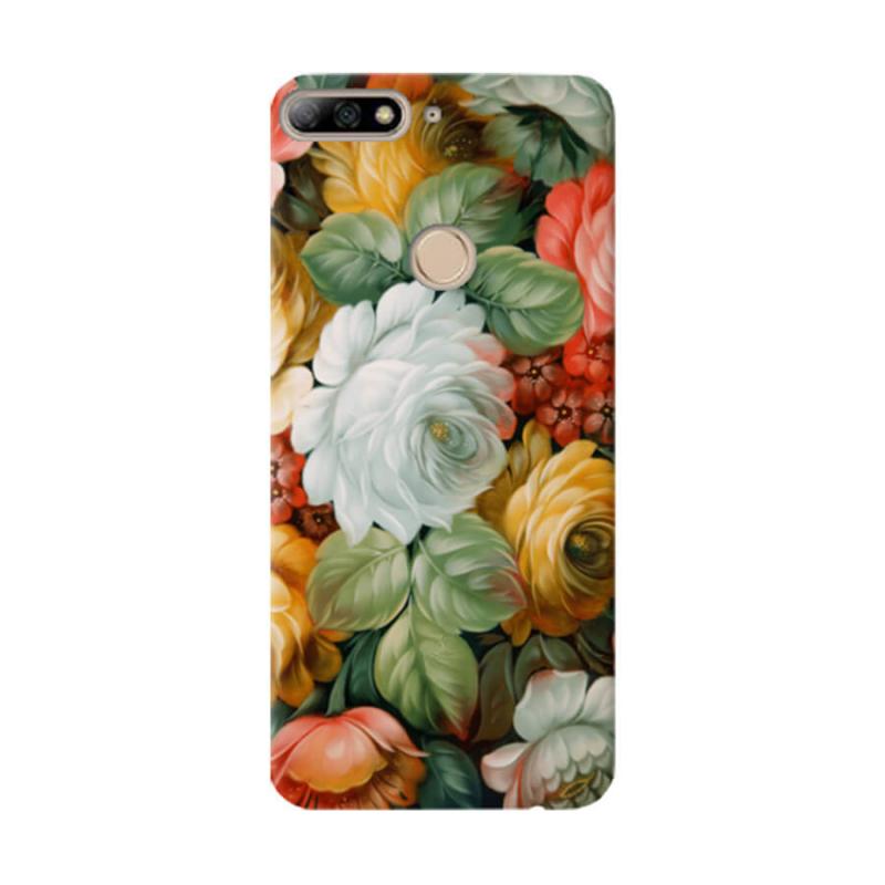 Чехол Spring Bouquet для Huawei Y7 Prime (2018)