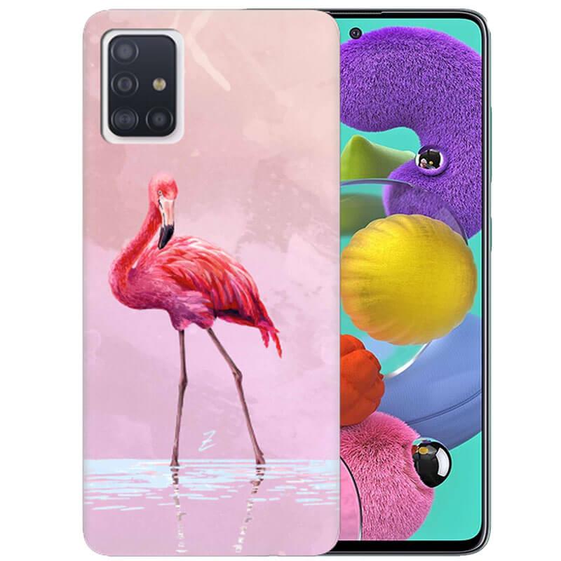 Чехол Pink Flamingo для Samsung Galaxy A51