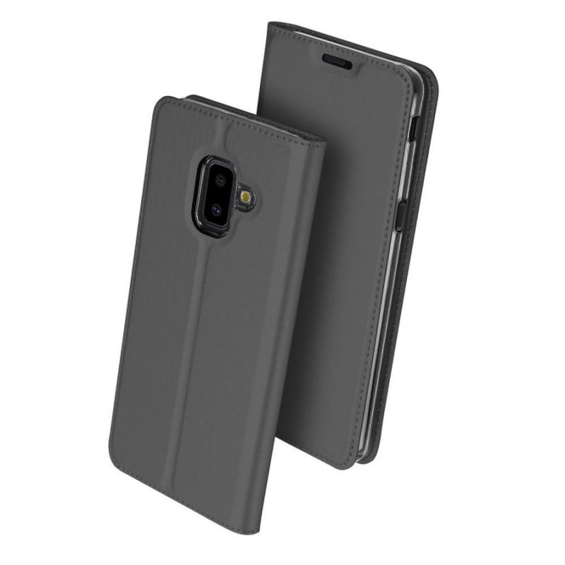 Чехол-книжка Dux Ducis с карманом для визиток для Samsung Galaxy J6+ (2018) (J610F)