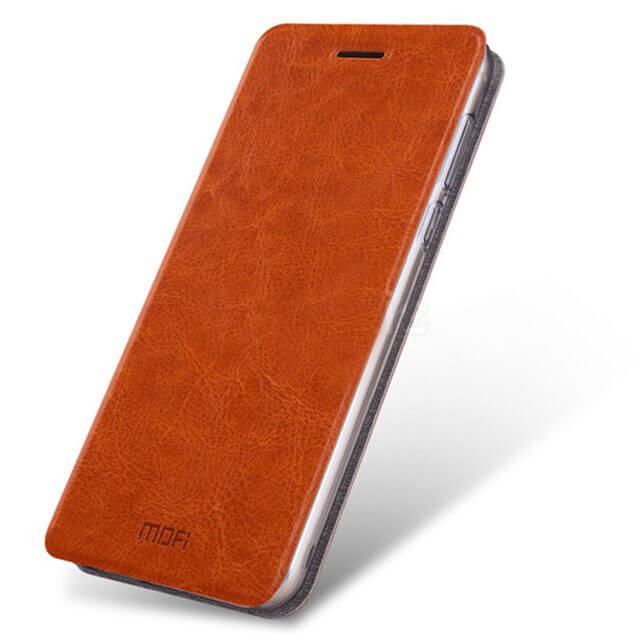 Кожаный чехол (книжка) MOFI Rui Series для Lenovo K6 Note / K6 Plus