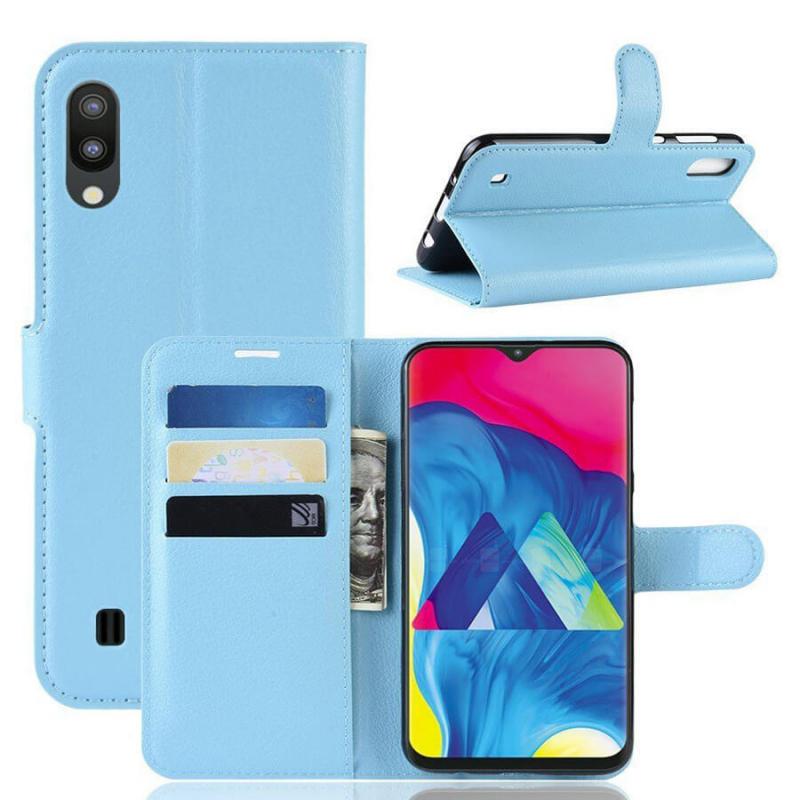 Чехол (книжка) Wallet с визитницей для Samsung Galaxy M10