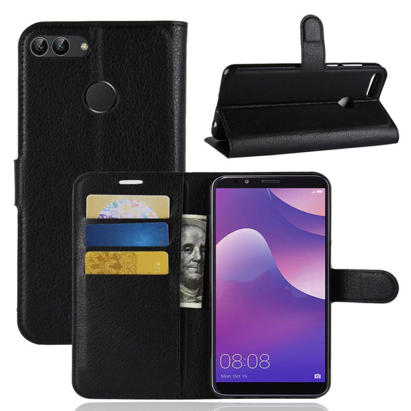 Чехол (книжка) Wallet с визитницей для Huawei Y9 (2019) / Enjoy 9 Plus