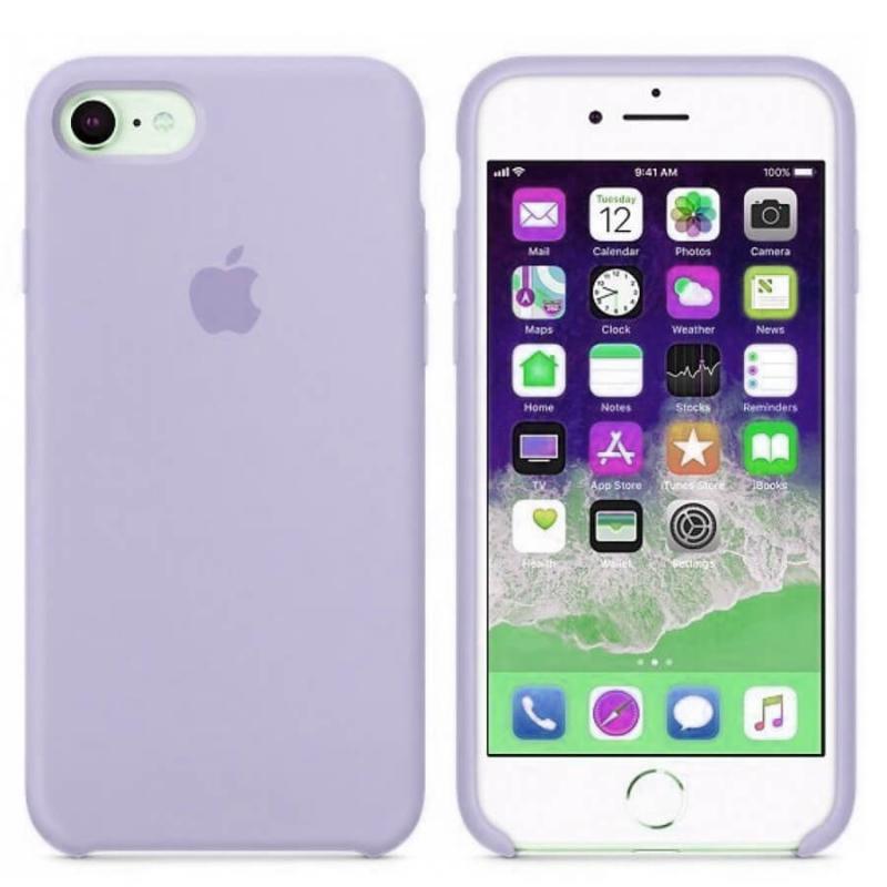 "Чехол Silicone case (A) для Apple iPhone 8 (4.7"")"