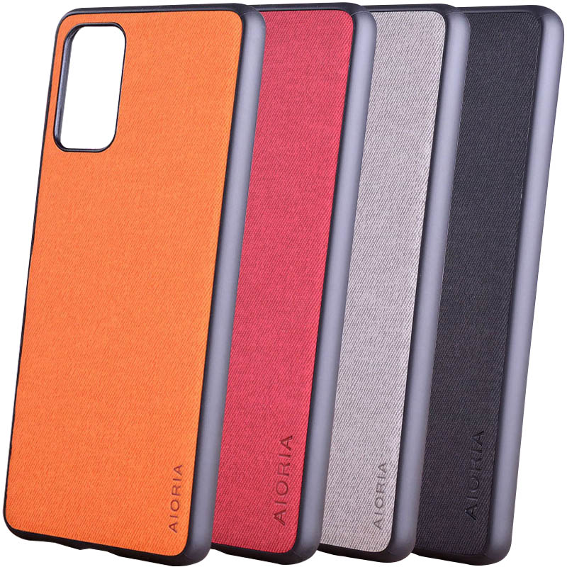 Чехол AIORIA Textile PC+TPU для Samsung Galaxy S20 Ultra