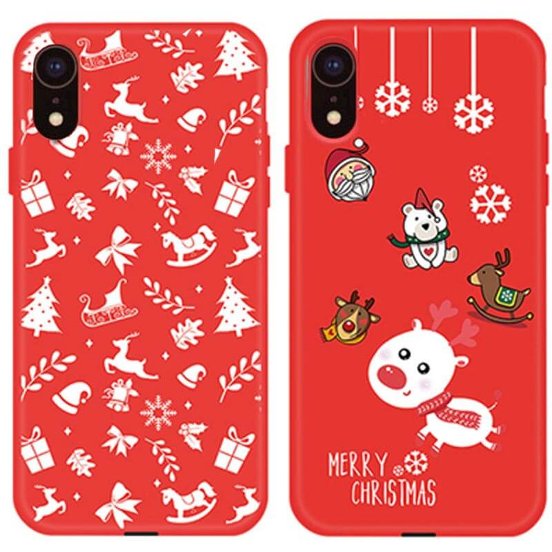 "TPU чехол Merry Christmas для Apple iPhone XR (6.1"")"