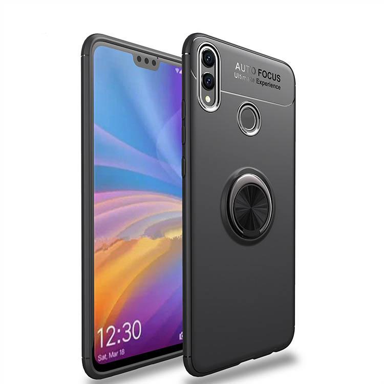 TPU чехол Deen ColorRing под магнитный держатель (opp) для Huawei Honor 8X