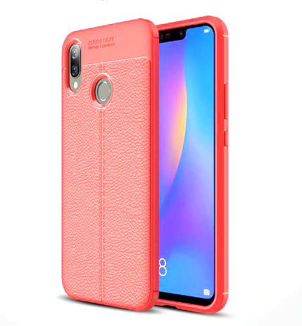 TPU чехол iPaky Litchi Series для Huawei P Smart+ (nova 3i)