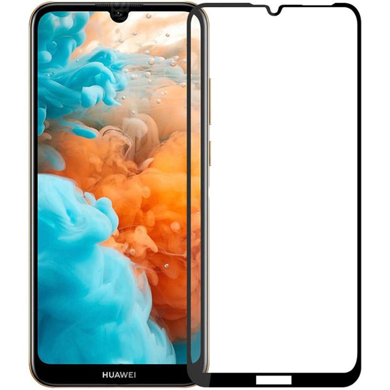 Защитное стекло 2.5D CP+ (full glue) для Huawei Y6p / Honor 9a