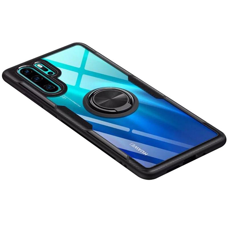 TPU+PC чехол Deen CrystalRing for Magnet (opp) для Huawei P30 Pro