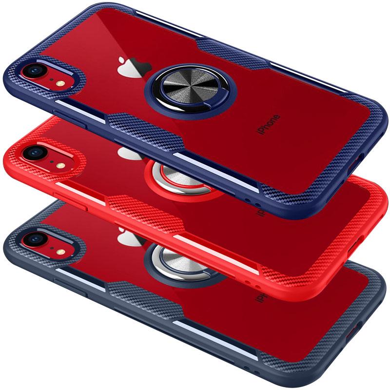 "TPU+PC чехол Deen CrystalRing for Magnet (opp) для Apple iPhone XR (6.1"")"