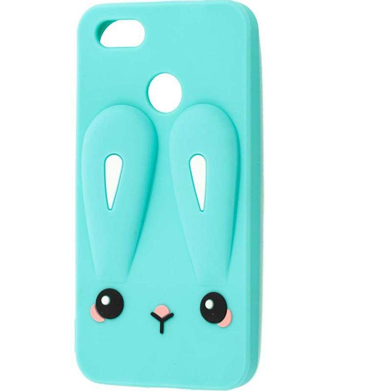 Силиконовая накладка 3D Child Bunny для Huawei Y5 (2018) / Y5 Prime (2018) / Honor 7A