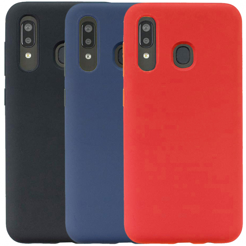 Чехол Silicone Cover with Magnetic для Samsung Galaxy A40 (A405F)
