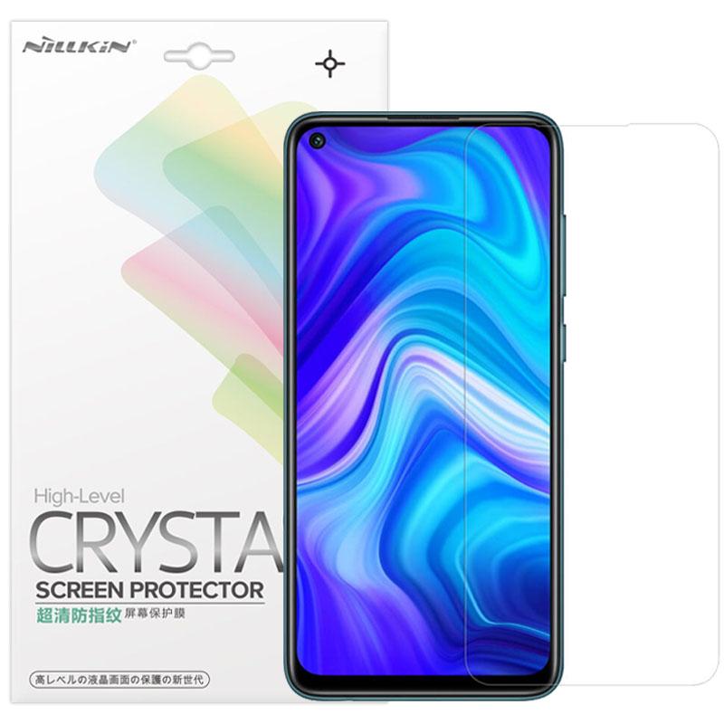 Защитная пленка Nillkin Crystal для Xiaomi Redmi Note 9 / Redmi 10X / Note 9T / Note 9 5G