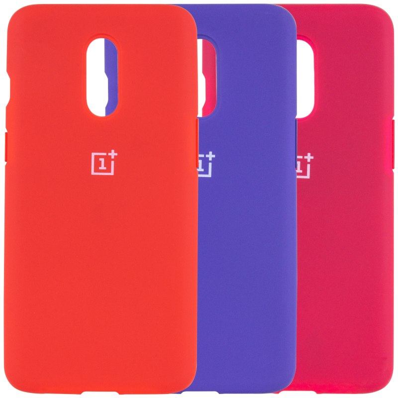Чехол Silicone Cover Full Protective (AA) для OnePlus 7