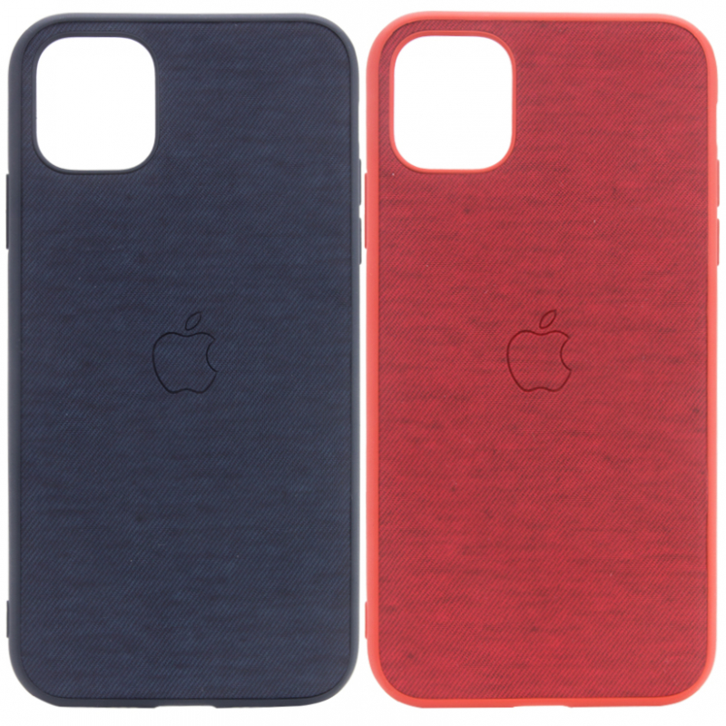 "TPU чехол Textile Logo для Apple iPhone 11 Pro (5.8"")"