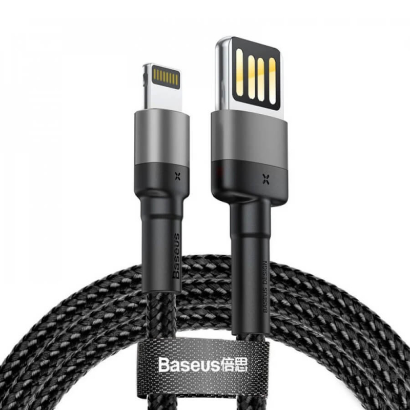 Дата кабель Baseus Cafule Lightning Cable Special Edition 2.4A (1m)