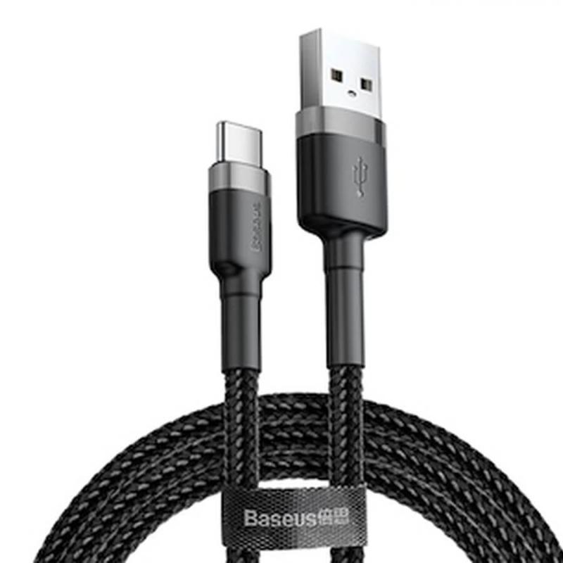 Дата кабель Baseus Cafule Type-C Cable 2A (2m)