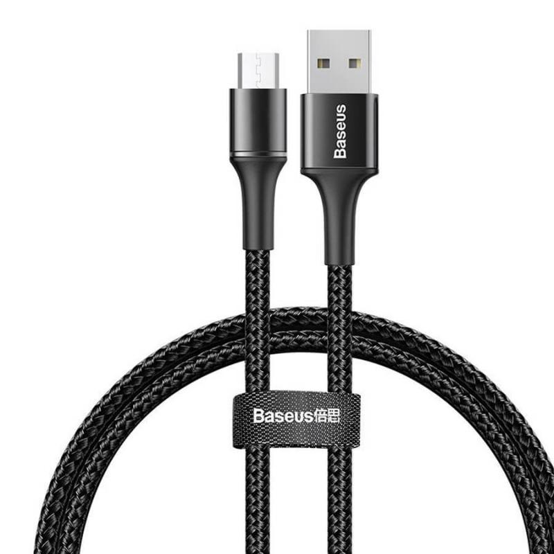 Дата кабель Baseus Halo Data Micro USB Cable 2A (2m)