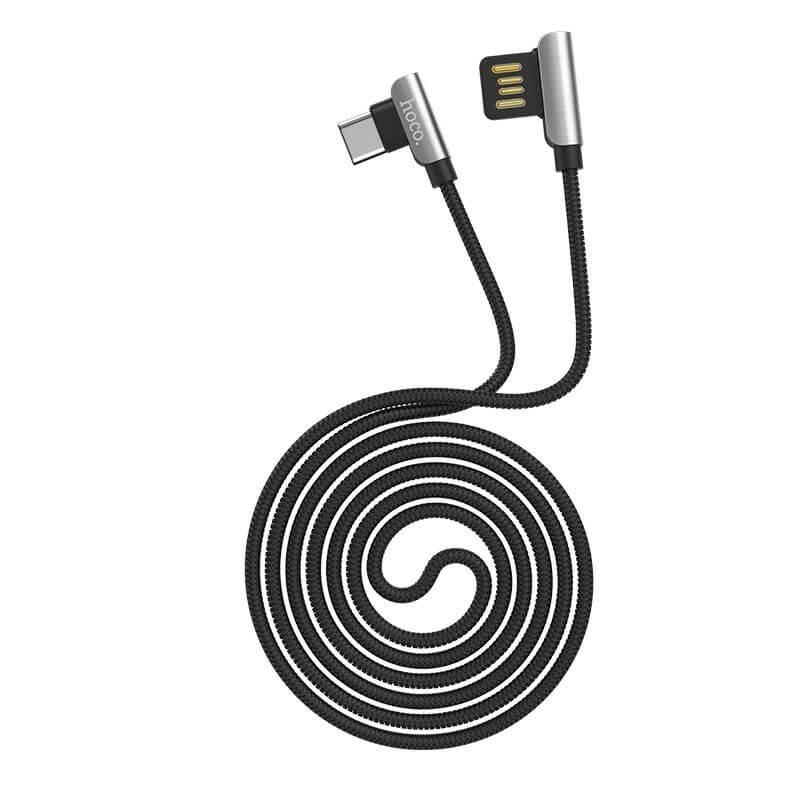 Дата кабель Hoco U42 Exquisite Steel Type-C cable (1.2m)