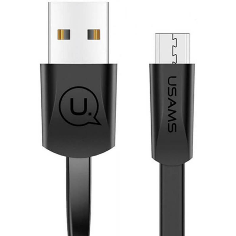 Дата кабель USAMS US-SJ201 USB to MicroUSB 2A (1.2m)
