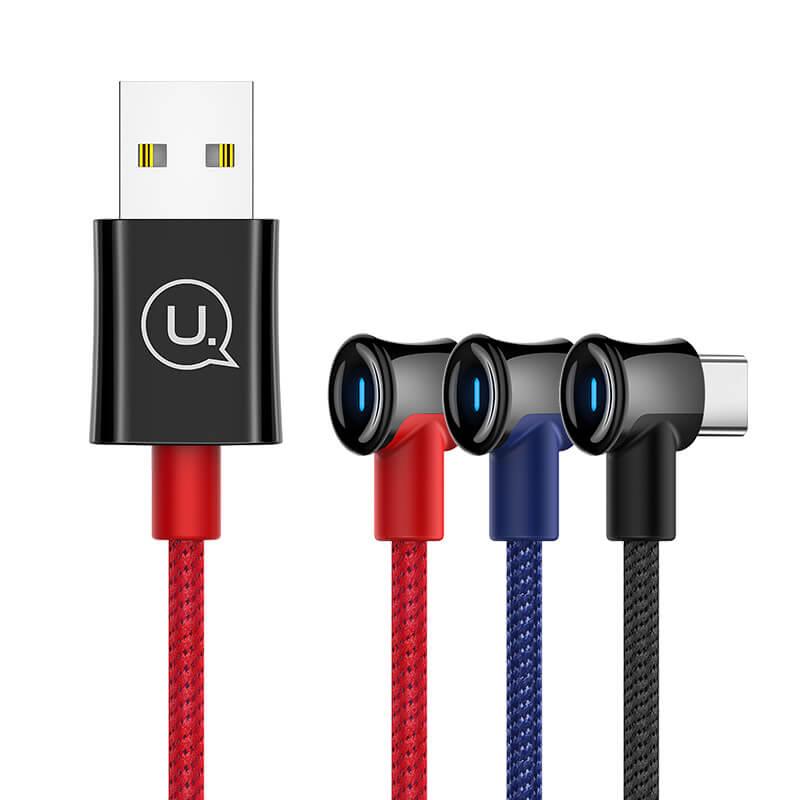 Дата кабель USAMS US-SJ341 U13 USB to Type-C (1.2m)