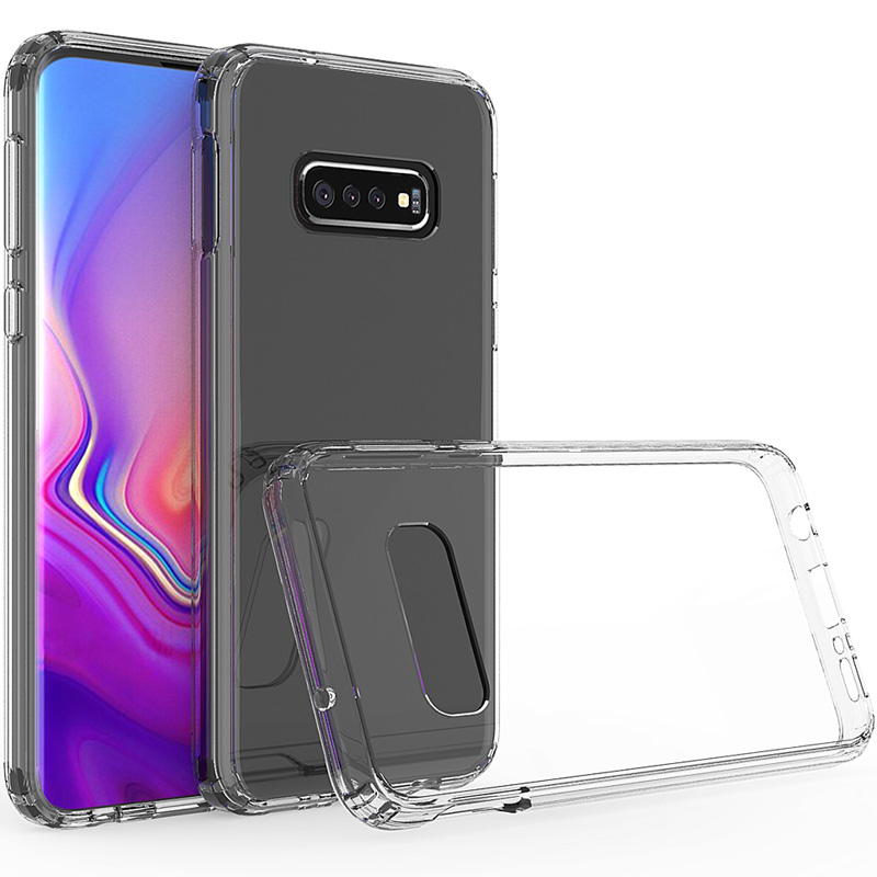 TPU+Glass чехол Clear для Samsung Galaxy S10