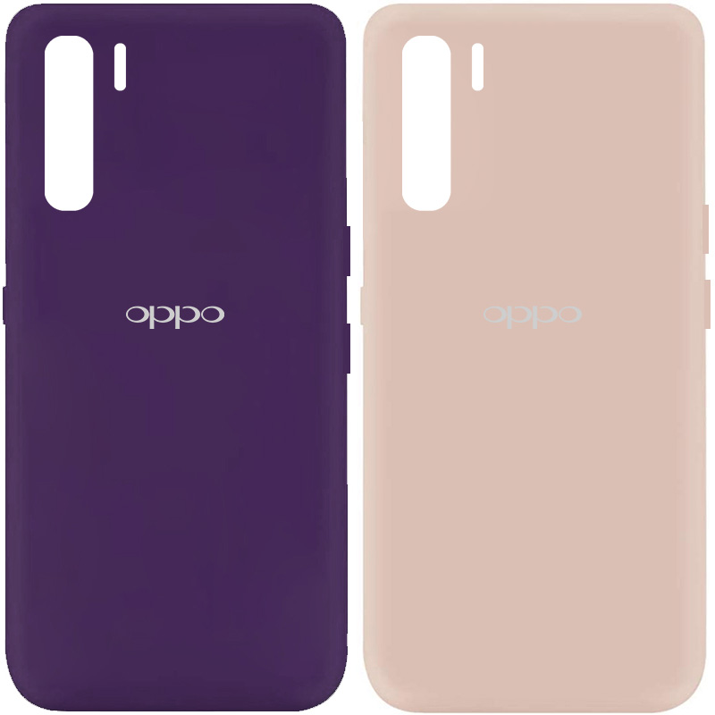 Чехол Silicone Cover My Color Full Protective (A) для Oppo Reno 3