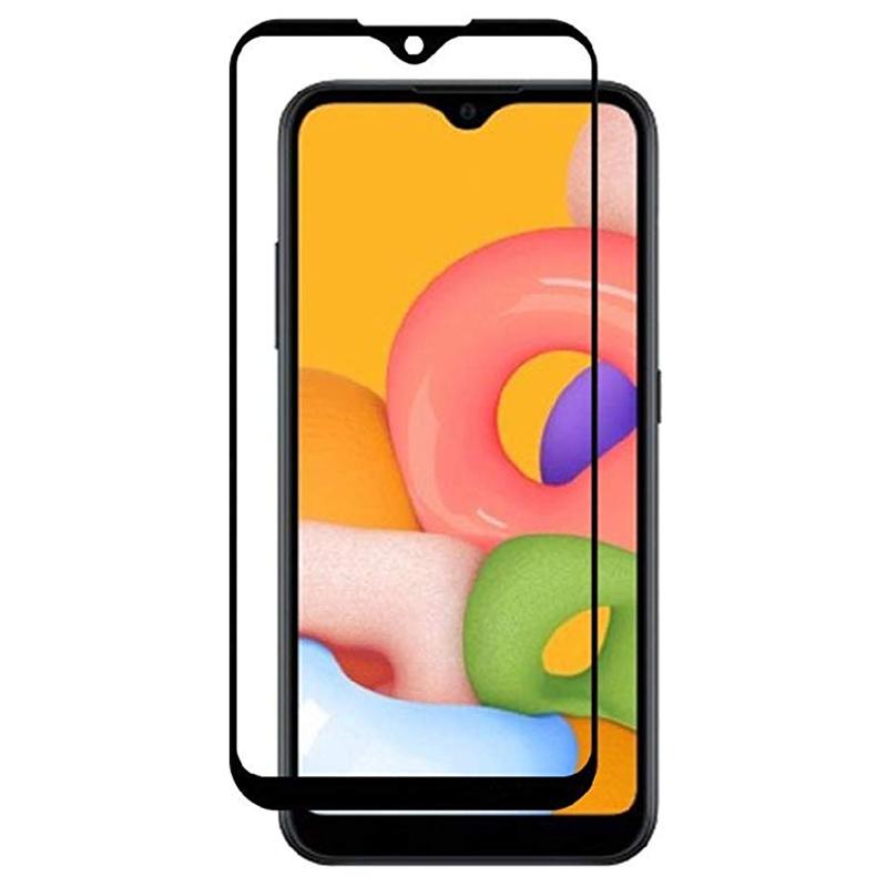 Защитное стекло XD+ (full glue) (тех.пак) для Samsung Galaxy A01
