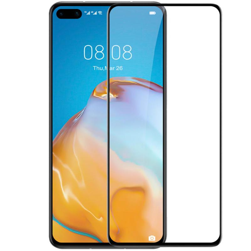 Защитное цветное 3D стекло Mocoson (full glue) для Huawei P40 Pro