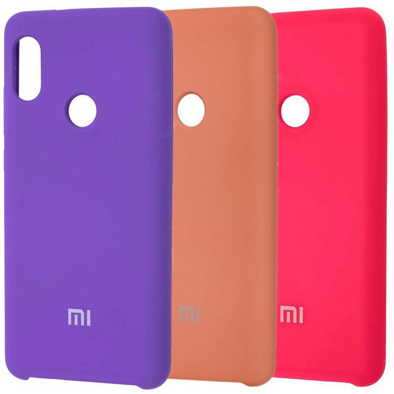 Чехол Silicone case для Xiaomi Redmi Note 5 Pro / Note 5 (DC)