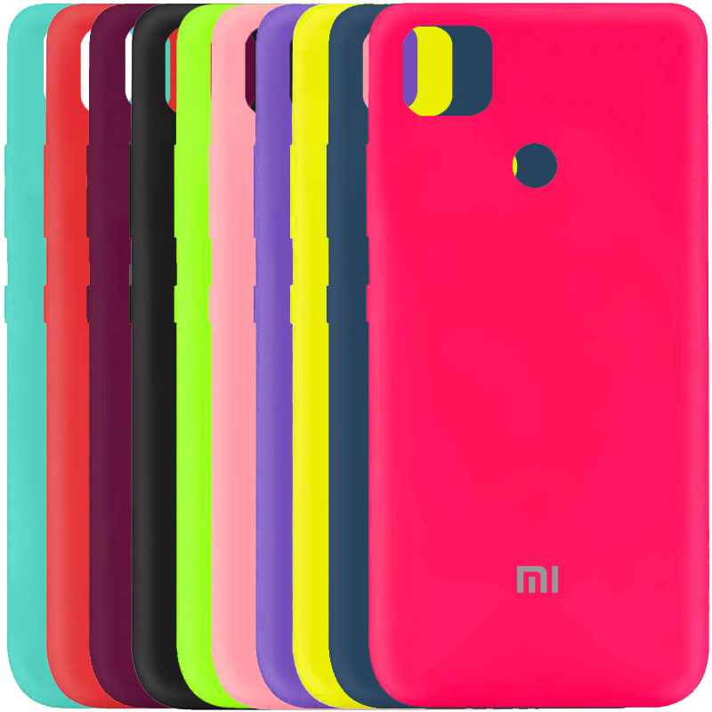 Чехол Silicone Cover My Color Full Protective (A) для Xiaomi Redmi 9C