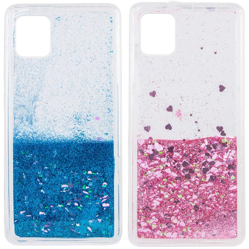 TPU чехол Liquid hearts для Samsung Galaxy Note 10 Lite (A81)
