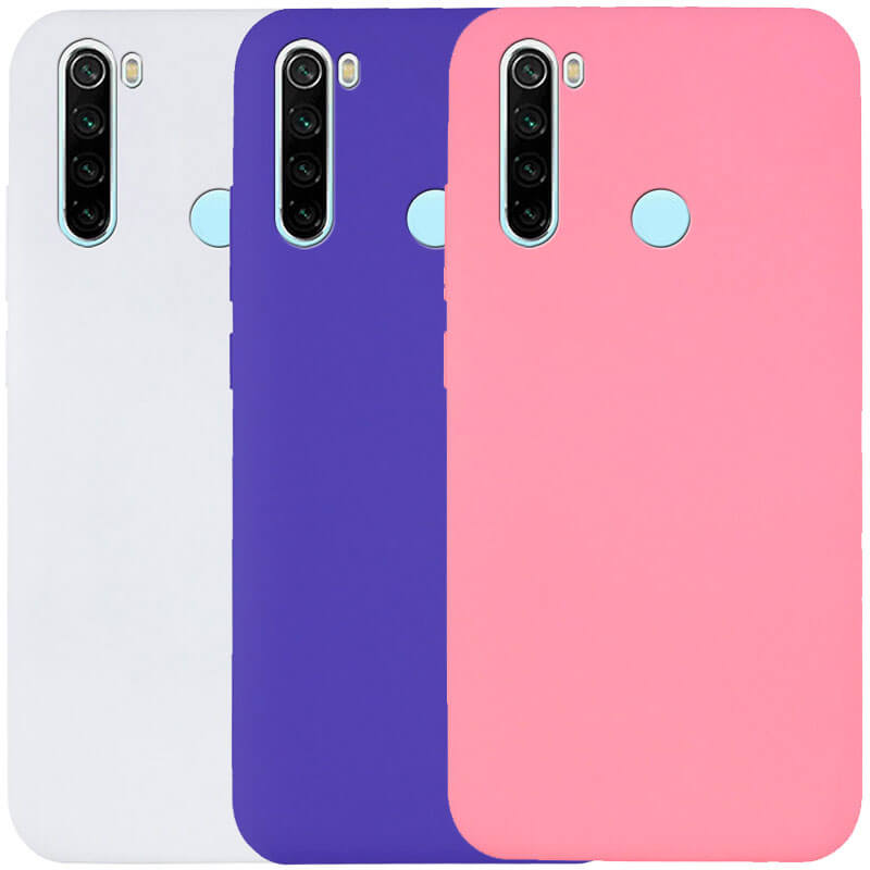 Чехол Silicone Cover Full without Logo (A) для Xiaomi Redmi Note 8T