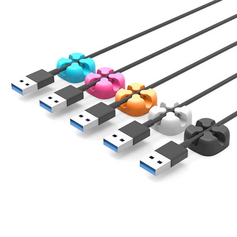 Двойной фиксатор для кабеля Orico