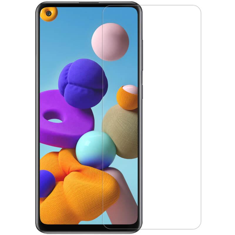 Защитное стекло Ultra 0.33mm для Samsung Galaxy A21 / A21s (в упак.)