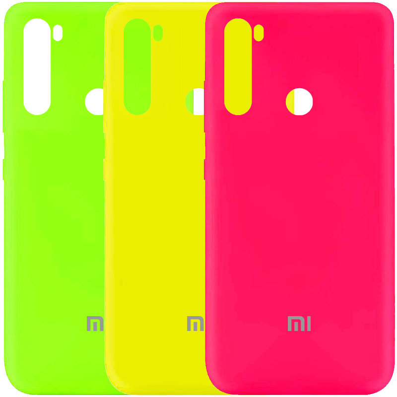 Чехол Silicone Cover My Color Full Protective (A) для Xiaomi Redmi Note 8T