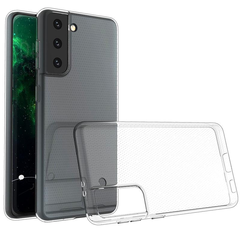 TPU чехол Epic Transparent 1,0mm для Samsung Galaxy S21