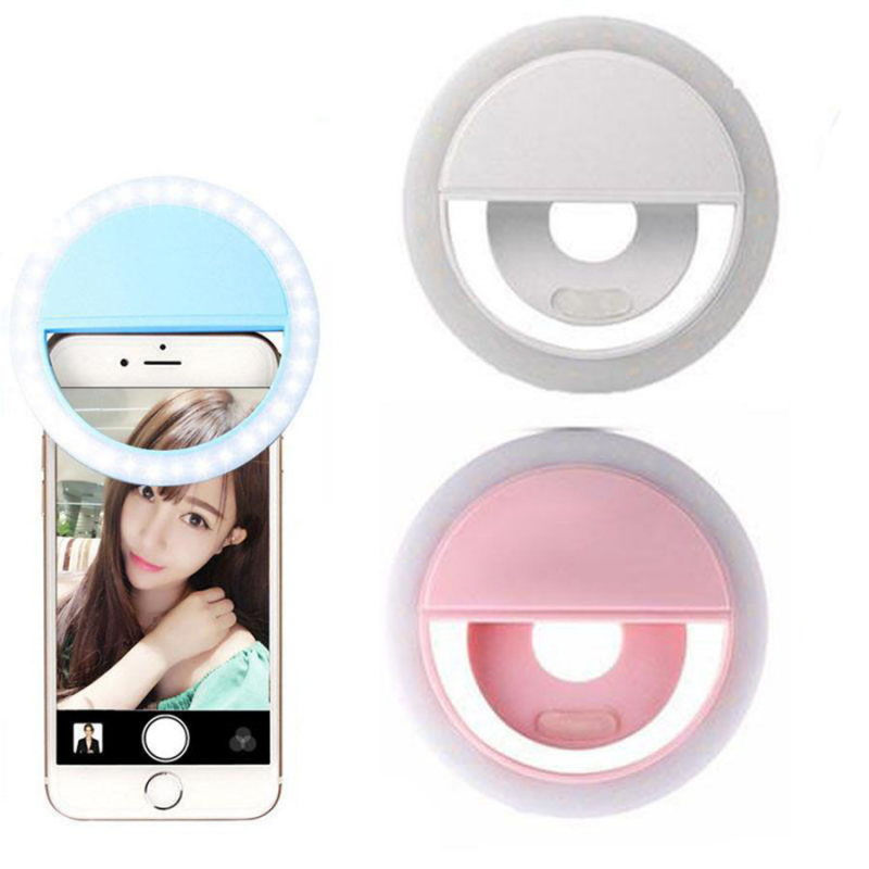 LED вспышка Ring Flash RK12 на смартфон для селфи