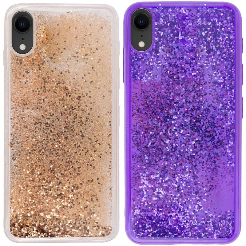 "TPU+PC чехол Sparkle (glitter) для Apple iPhone XR (6.1"")"