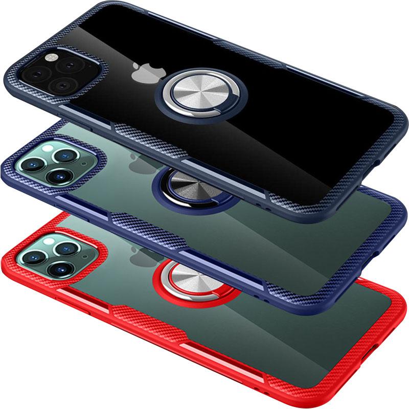 "TPU+PC чехол Deen CrystalRing for Magnet (opp) для Apple iPhone 11 Pro (5.8"")"