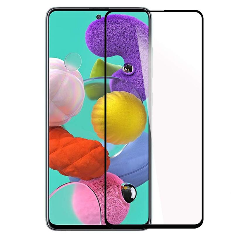 Защитное стекло 2.5D CP+ (full glue) для Samsung Galaxy A71 / Note 10 Lite / M51 / M62