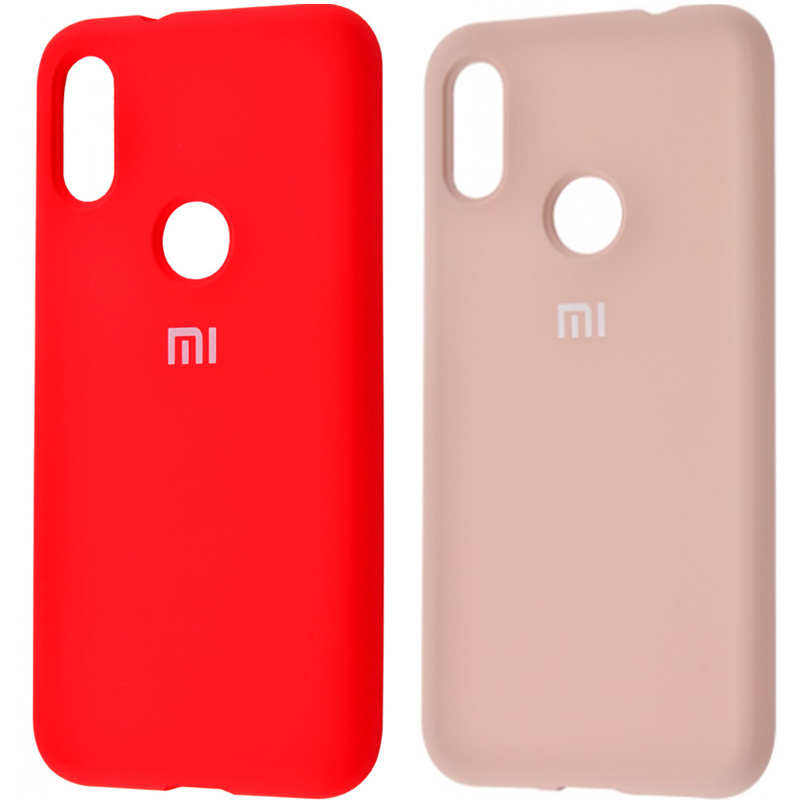 Чехол Silicone Cover Full Protective (AA) для Xiaomi Redmi Note 7 / Note 7 Pro / Note 7s