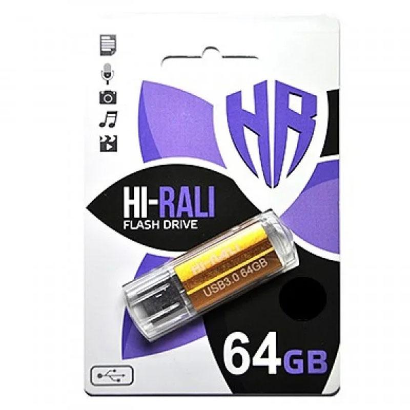Флеш накопитель Hi-Rali Corsair 64 GB Бронзовая серия